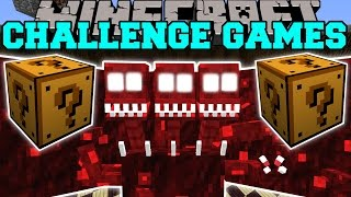 getlinkyoutube.com-Minecraft: DREADBEAST CHALLENGE GAMES - Lucky Block Mod - Modded Mini-Game