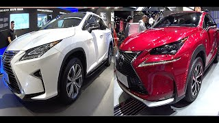 getlinkyoutube.com-New2016, 2017 Lexus NX, Lexus RX, Toyota Harrier
