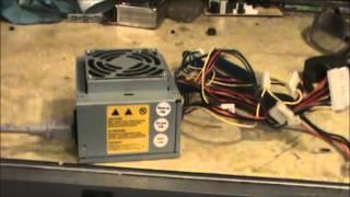 getlinkyoutube.com-Using a computer power supply for powering a car radio: see description