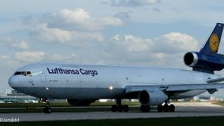 getlinkyoutube.com-14 Very Close Takeoffs: MD11, 777, 787, A330, A300, 767, MD81, 757, A321 Manchester Airport