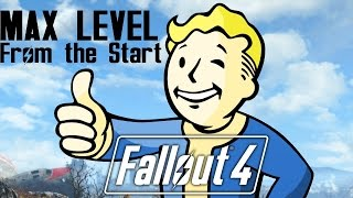 getlinkyoutube.com-Fallout 4 MAX Level Right Out of the Vault! (PS4 / Xbox One)