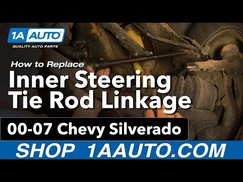 How To Replace Inner Tie Rods 01-10 GMC Sierra 2500 HD