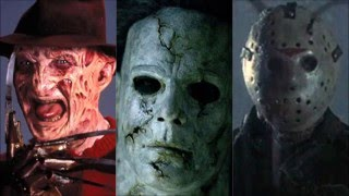 getlinkyoutube.com-Homenaje a los Slashers (Freddy Krueger, Jason Voorhees, Leatherface y Michael Myers)