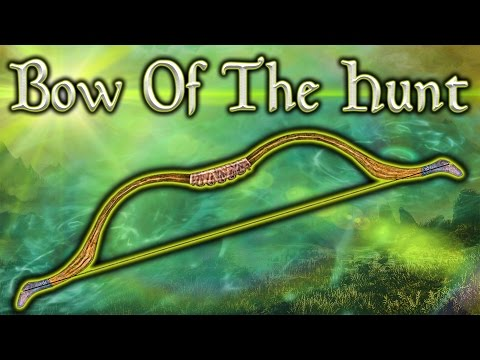 Skyrim SE - Bow Of The Hunt - Unique Weapon Guide