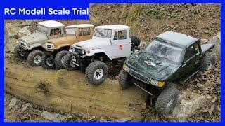 getlinkyoutube.com-Axial SCX10 Scale Trial