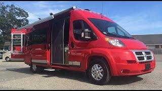 getlinkyoutube.com-Winnebago Travato Nomad RV Camper Van Conversion on Fiat Ducato Ram Pro Master