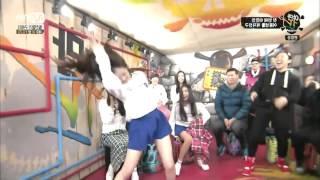 getlinkyoutube.com-GFRIEND Shinbi & Yerin Funny Chicken Dance Compilation