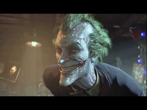 Batman: Arkham City - Joker Trailer -QoWgrcoGAaQ