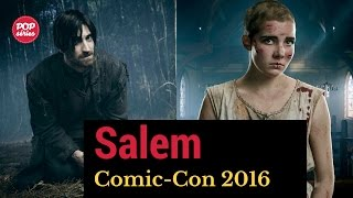 SDCC 2016: Elise Eberle, Iddo Goldberg e Adam Simon de Salem