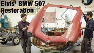 getlinkyoutube.com-Elvis' BMW 507 Restoration