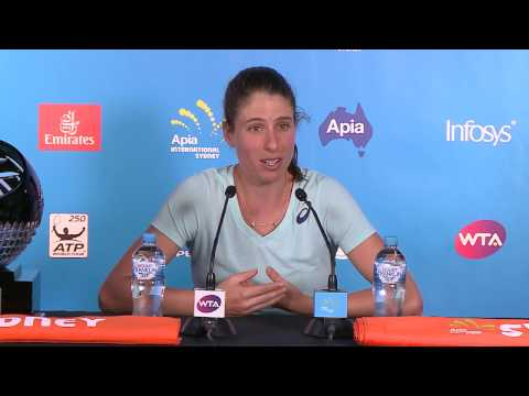 Johanna Konta Press Conference (Final) | Apia International Sydney 2017