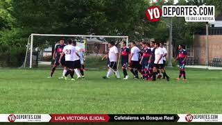 Cafetaleros vs Bosque Real Victoria Ejidal