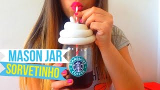 getlinkyoutube.com-DIY: MASON JAR SORVETINHO