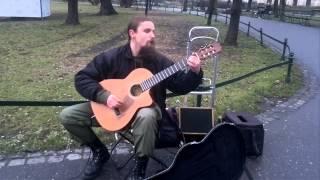 getlinkyoutube.com-Niesamowity gitarzysta! (Brilliant guitarist) Mariusz Goli 2014