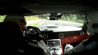 SLS At The Ring! - Mercedes-Benz SLS AMG Laps Nurburgring