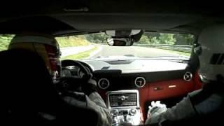 SLS At The Ring! - Mercedes-Benz SLS AMG Laps Nurburgring