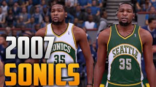getlinkyoutube.com-NBA 2K16 2007 Seattle SuperSonics Jersey & Court Tutorial