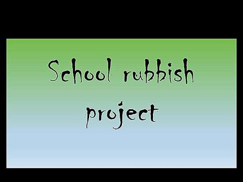 <p>Data project: Clean school</p>