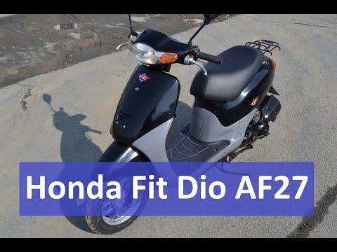 Honda Fit Dio AF27 отличный вариант для начинающих.