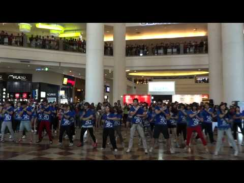 120602 Super Junior Flash Mob by MYSJ at Berjaya Times Square