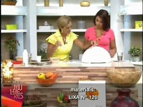 Só Isopor - Rosely Ferraiol ensina a fazer Fruteira [Pt. 01]