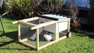 getlinkyoutube.com-How to build a house-on-wheels for rabbits, guinea pigs & other small aniimals