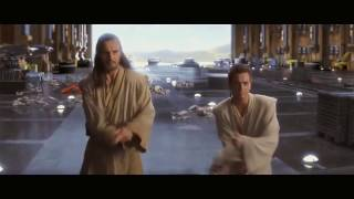 Phantom Menace - Obi Wan Qui Gon vs  Darth Maul