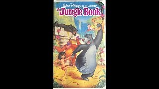 Opening To The Jungle Book 1991 VHS
