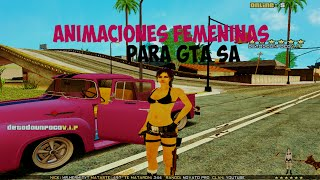 getlinkyoutube.com-Animaciones Femeninas Para GTA San Andreas  2015|HD|