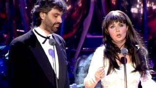 getlinkyoutube.com-Sarah Brightman Andrea Bocelli -1997 Por ti volare.