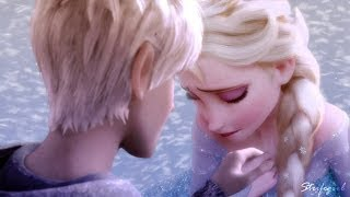 getlinkyoutube.com-Elsa and Jack Frost // Afraid