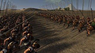 getlinkyoutube.com-Total War: Rome 2's Deadliest Pike Phalanx Round 1: Foot Companions vs Hellenic Royal Guard