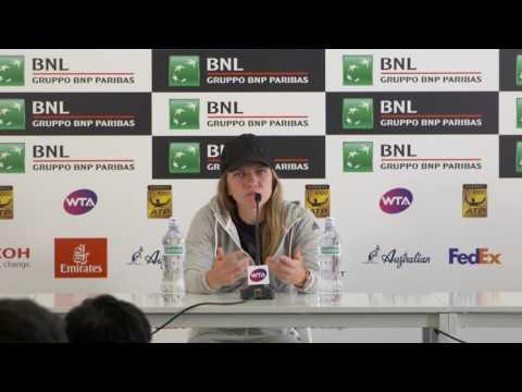 Simona Halep Press Conference 20/05