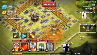 getlinkyoutube.com-Clash of Lords 2 - Landslide slapping people with his girl Ambrosia
