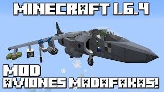 getlinkyoutube.com-Minecraft 1.6.4 MOD AVIONES MADAFAKAS!
