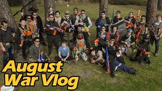 getlinkyoutube.com-August War Vlog - Melbourne Nerf Wars | Make Test Battle