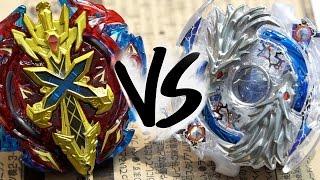 getlinkyoutube.com-BATTLE: Lost Longinus .N.Sp VS Xeno Xcalibur .M.I - Beyblade Burst!