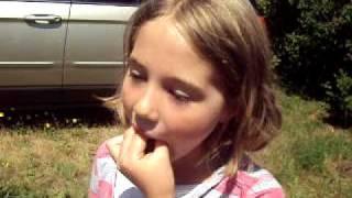 josie eating cricket