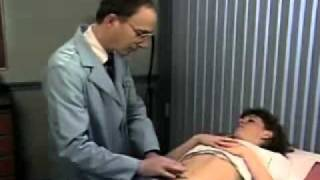 getlinkyoutube.com-woman examination on the belly