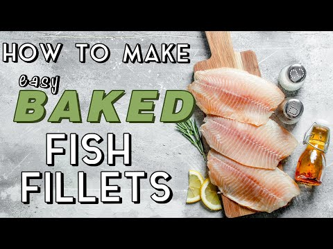 Easy Baked Fish Fillets Recipe