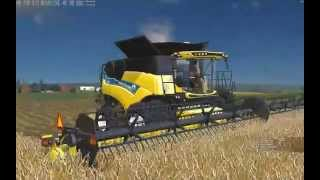 getlinkyoutube.com-Farming Simulator 2015:  MP Harvest
