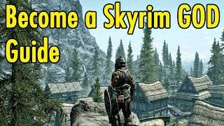 getlinkyoutube.com-Become a Skyrim GOD Guide