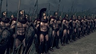 getlinkyoutube.com-Rome 2 Total War Lets Compare Units in Battle. # 89 The Real 300 vs The Myrmidons