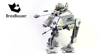 getlinkyoutube.com-Lego Star Wars 75043 AT-AP Complete build, unboxing and review