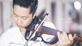 getlinkyoutube.com-Don't Let Me Down - The Chainsmokers - Violin Cover by Daniel Jang