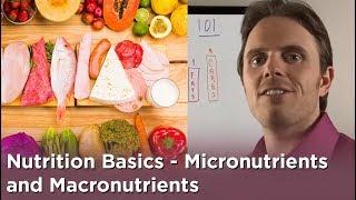 Nutrition Basics - Micro-nutrients and Macro-nutrients