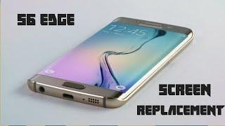 كيف يتم تغير شاشة جلاكسى اس 6 ايدج - Galaxy S6 Edge Screen Replacement