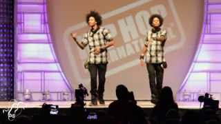 getlinkyoutube.com-Les Twins | World Hip Hop Dance Finals 2013 | #SXSTV