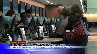Sun Country despedirá a 350 empleados en Minnesota