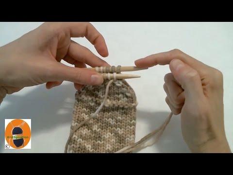 Stricken wir! - Socke 5/5: die Socke mit Maschenstich beenden
